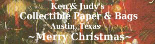Ken&Judy's Collectibles,Paper&Bags